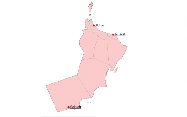 Facilities - Oman map png
